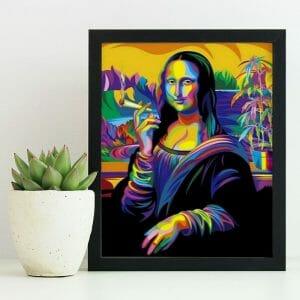 Mona Lisa Thug Life