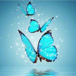 Water Color Butterflies