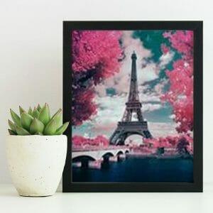 Romantic Eiffel Tower