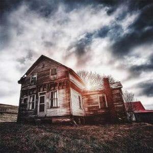 Beautiful House in Dark