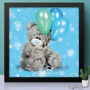 Teddy and Balloon