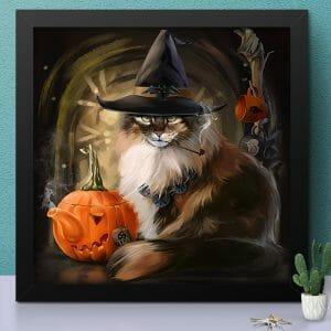 Cat with Black Hat