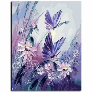 Amazing Butterflies on Flowers