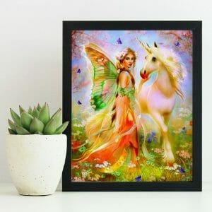 Unicorn and an Angel