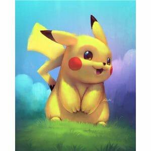 The Cute Pikachu
