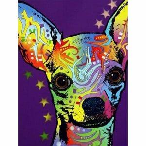 Cute Little Dog Mosaic