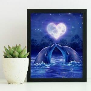 Cute Whale Couple