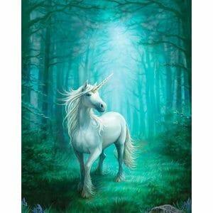 Unicorn in Jungle