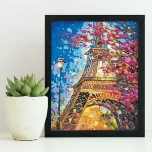 Amazing Art of Eiffel Tower