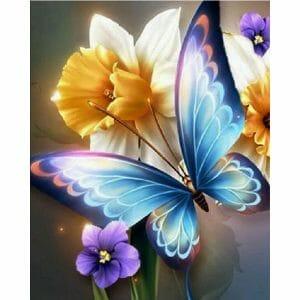 Lightning Butterfly on Flower