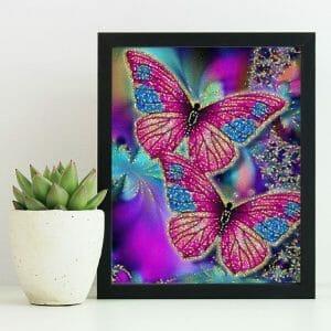 Sparkling Butterflies