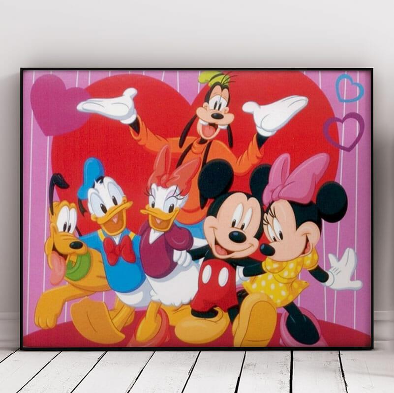 Colorful Mickey Gang