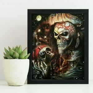 The Scary Skull