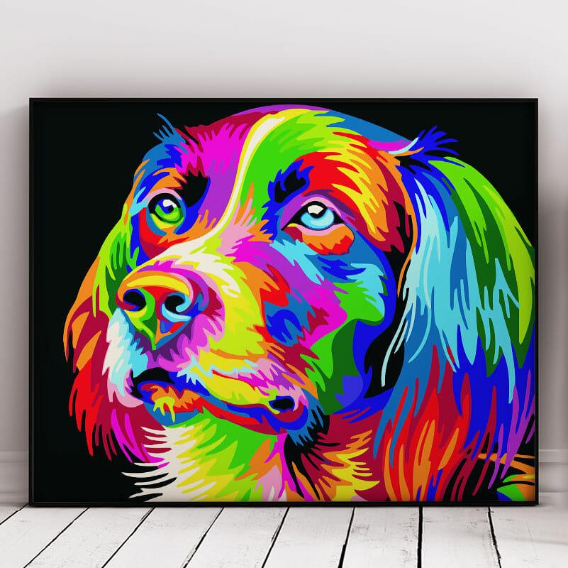 Amazing Abstract Dog