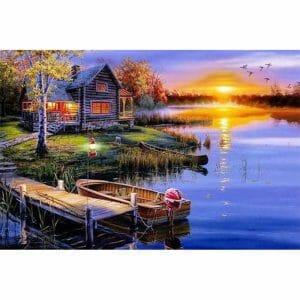 Beautiful House Near River