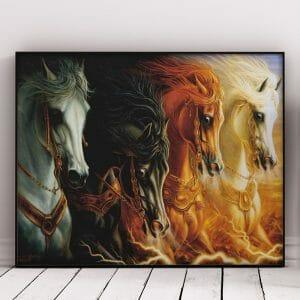 The Biggest Race - Horses