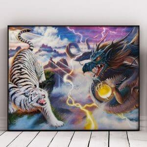 Tiger Vs Dragon