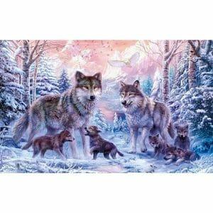 Amazing Wolf Family