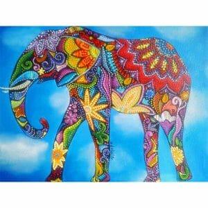 Beautiful Abstract Elephant