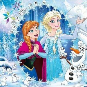 Queen Elsa and Anna