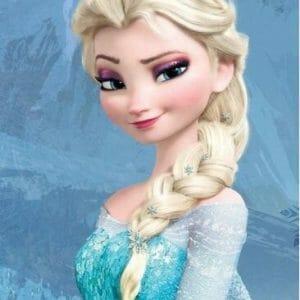 Queen Elsa Looking Cute