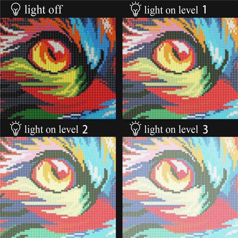 Multiple light intensity