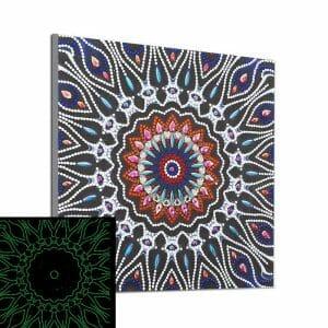 The Mandala Art - Glow in the Night