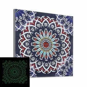 Mandala Art - Glow in the Night