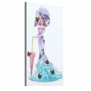 Pretty Princess - Special Shaped Diamond Painting