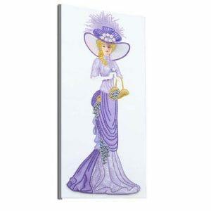 Princess in Beautiful Dress