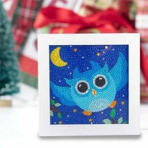 Blue Flying Owl