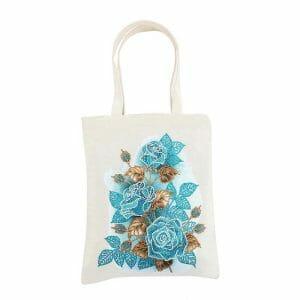 The Blue Rose - Diamond Painting Bag