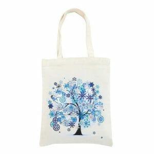 Blue Tree - Diamond Art Bag