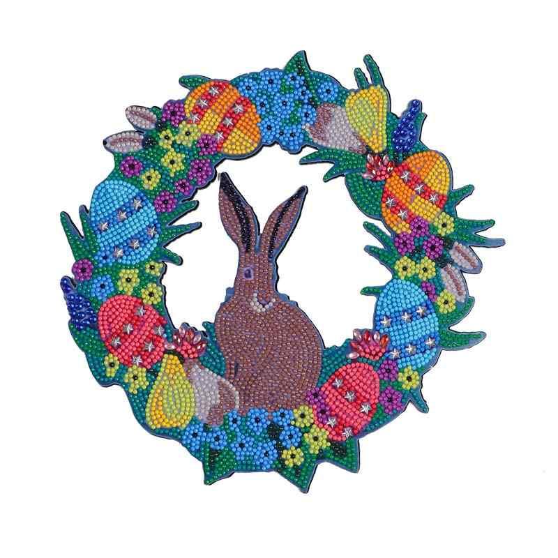 kangaroo Wreath Diamond Painting