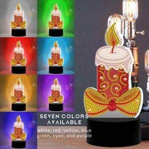 Candle - Diamond Lamp