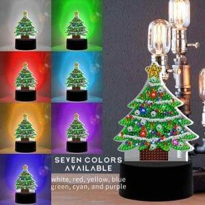 The Christmas Tree - Diamond Lamp