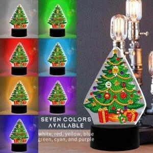 Christmas Tree - Diamond Painting Light