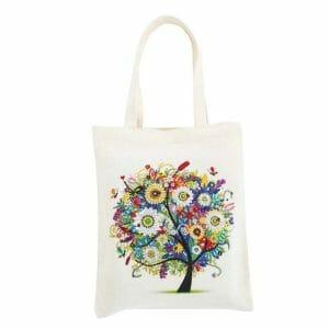 Colorful Tree - Diamond Painting Bag
