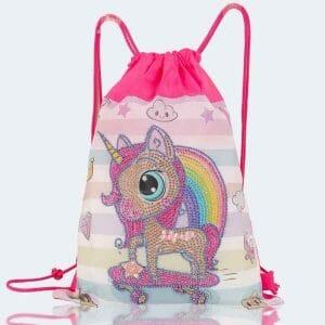 Cute Unicorn - Diamond Painiting Bag