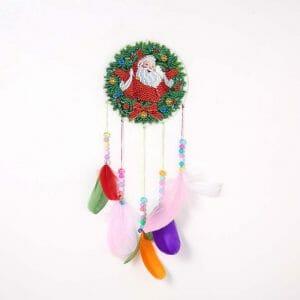 Santa - Diamond Painting Wind Chime