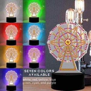 Ferris Wheel - Diamond Lamp