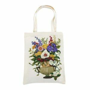 Flowers in Vase - Diamond Art Bag