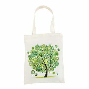 Green Tree - Diamond Art Bag