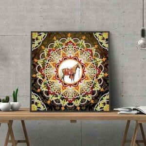 Horse Mandala Art