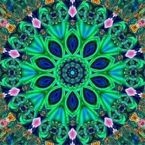Mandala Art - Green