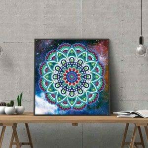 Mandala Art - Luminous Diamond Painting