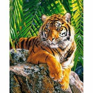The Amazing Tiger - Diamond Art