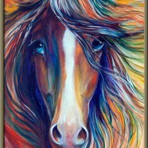 Amazing Hairs of Horse