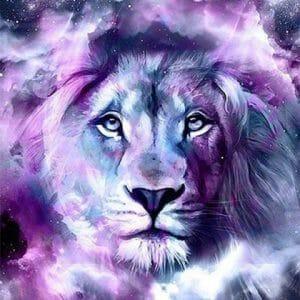 The Amazing Lion Diamond Art