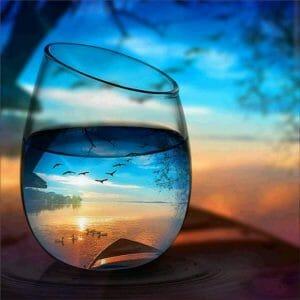 Beautiful Nature through a Glass